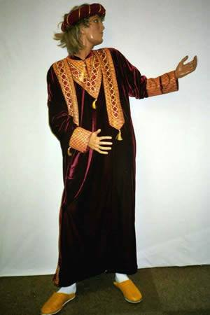 Costumes - Moroccan King Mens Costume