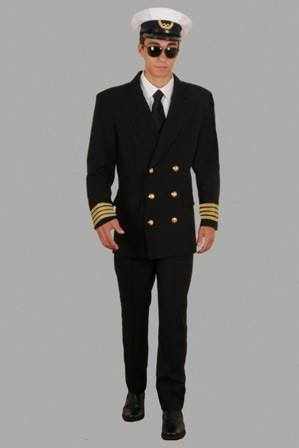 Costumes - Pilot Airline Mens Costume