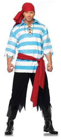 Costumes - Pirate Smee Mens Costume