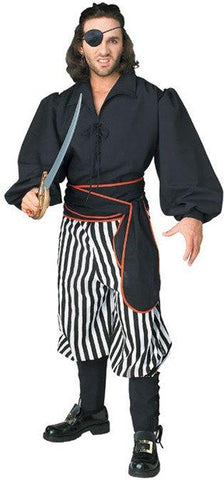 Costumes - Pirate Swashbuckling Mens Costume
