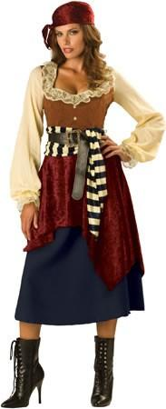 Costumes - Pirate Wench Buccaneer Beauty Womens Costume