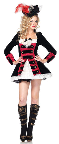 Costumes - Pirate Wench Captain Womens Costume
