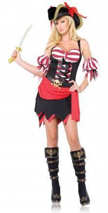 Costumes - Pirate Wench Rogue Womens Costume