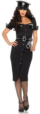 Costumes - Policewoman Lt Lockdown Womens Costume