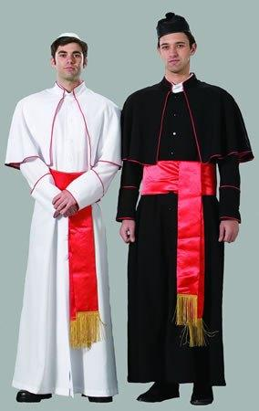 Costumes - Pope Deluxe Mens Costume
