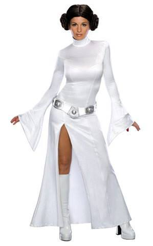 Costumes - Princess Leia Sexy Adult Costume For Hire