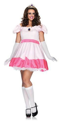 Costumes - Princess Peach Plus Womens Costume