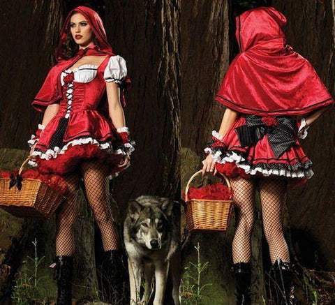 Costumes - Red Riding Hood Hire Costume Limited Edition