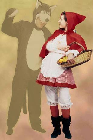 Costumes - Red Riding Hood Traditional Womens Costume
