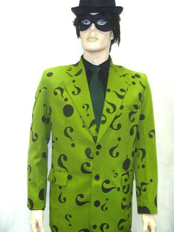 Costumes - Riddler Mens Costume