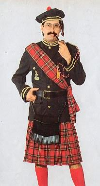 Costumes - Scotsman Mens Costume