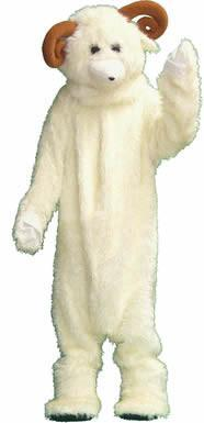 Sheep Adult Mascot Hire Costume