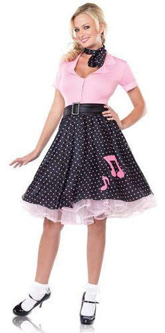 Costumes - Sock Hop Sweetie Womens Costume