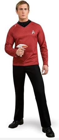 Costumes - Star Trek 2009 Red Mens Costume