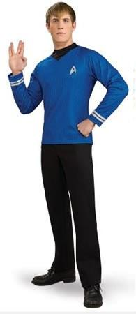 Costumes - Star Trek Mens Costume 2009 Blue