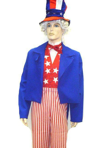 Costumes - Uncle Sam Costume Mens