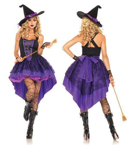 Costumes - Witch Broomstick Babe Womens Costume