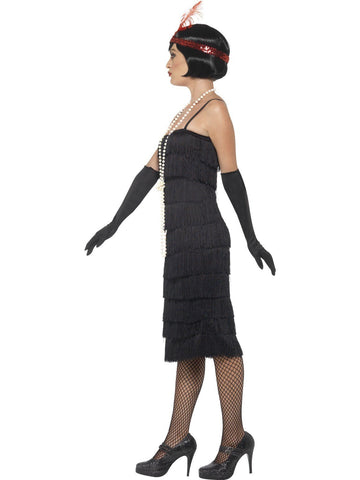 Costumes Women - 1920's Longer Fringed Flapper Adult Costume For Sale