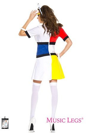 60s Mod Muse Womens Costume