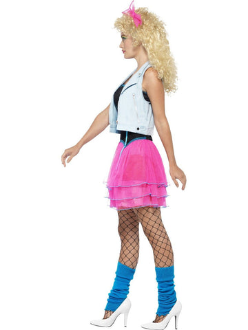 80s Wild Party Girl Adult Costume
