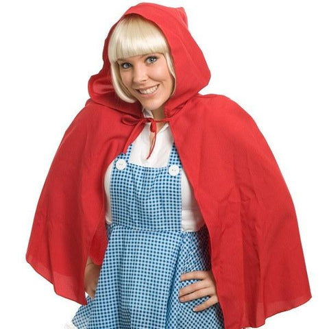 Costumes Women - Cape Red Riding Hood