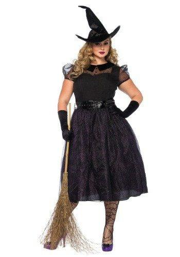 ... Black Plus Size Halloween Witch Costume. U2039u203a Previous Image Next Image