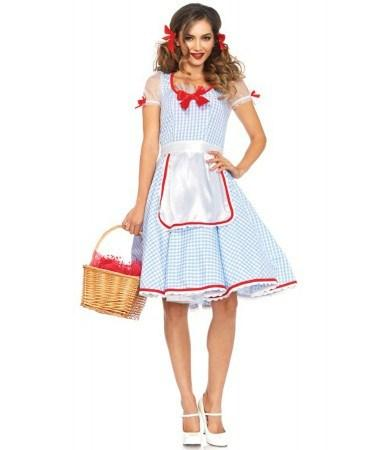 Costumes Women - Dorothy Kansas Sweetie Adult Hire Costume