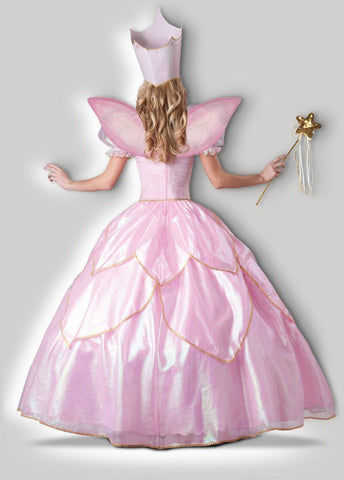 Elite Fairy Godmother Princess Hire Gown back
