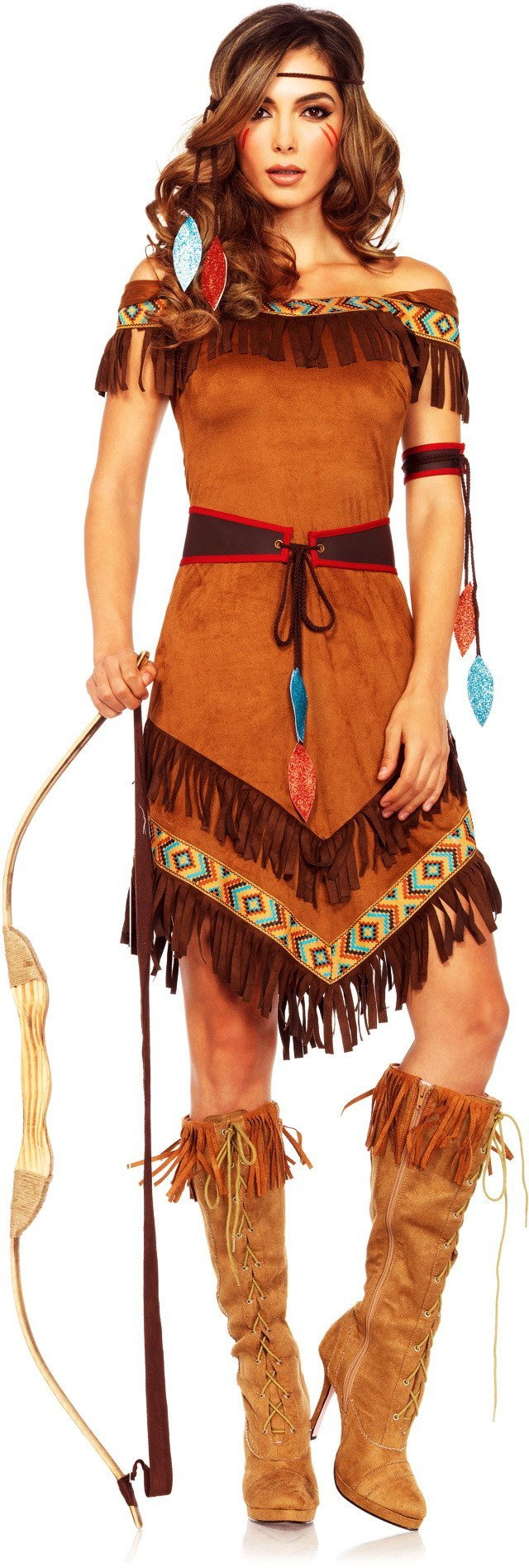 sc 1 st  Disguises Costumes & Indian Native Princess Adult Hire Costume
