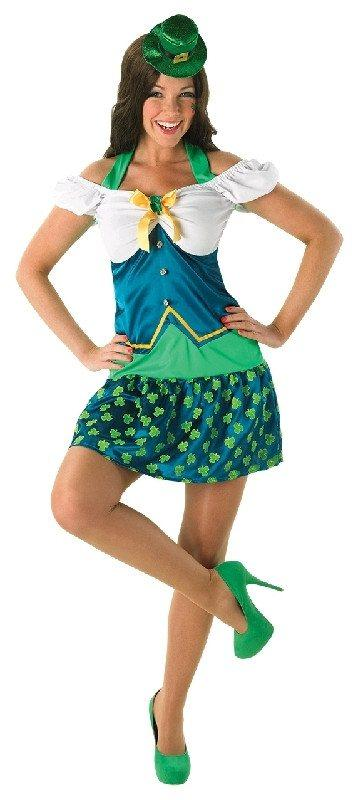 sc 1 st  Disguises Costumes & Leprechaun Womens Costume Irish Girl St Patricku0027s Day Fancy Dress
