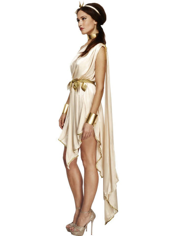 Ladies Toga Roman Greek Cleopatra Fancy Dress Costume