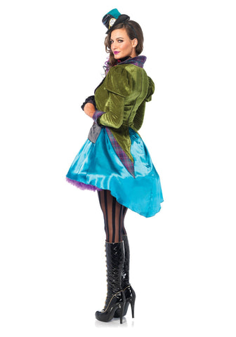 Costumes Women - Mad Hatter Deluxe Women's Costume For Sale