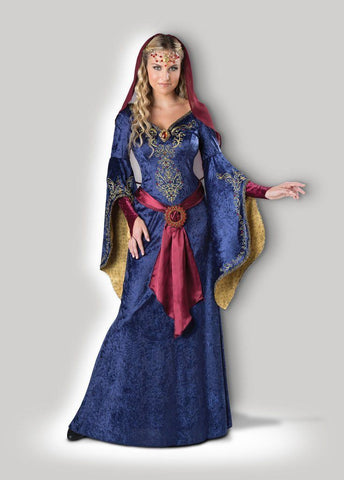 Maid Marian Medieval Fair and Banquet Hire Costume Gown