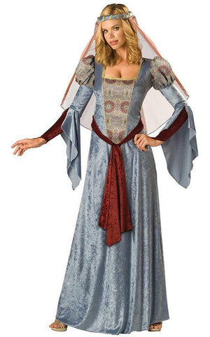 Maid Marian Medieval Renaissance Lady Light Blue Costume