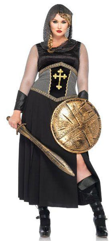Costumes Women - Medieval Knight Brienne Womens Hire Costume