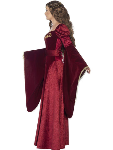 Costumes Women - Medieval Queen Deluxe Costume