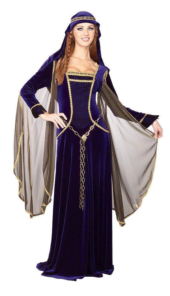 f08807e33eb Costumes Women - Medieval Renaissance Queen Adult Costume