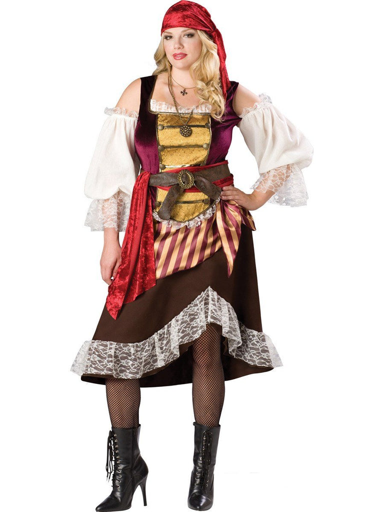 d516878932c Pirate Wench Deckhand Darling Plus Size Hire Womens Costume – Disguises  Costumes Hire & Sales