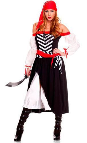 Costumes Women - Pirate Wench Womens Costume Long