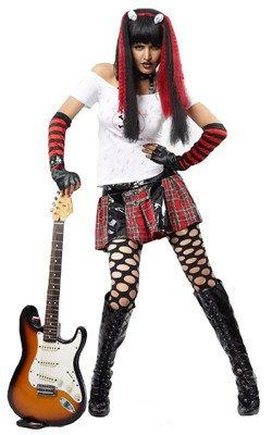 Costumes Women - Punk Lady Womens Costume