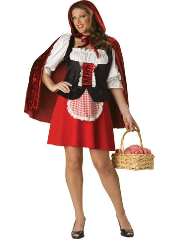 Costumes Women - Red Riding Hood Classic Plus Size Womens Costume