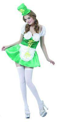Costumes Women - St Pattys Lady Luck Womens Costume