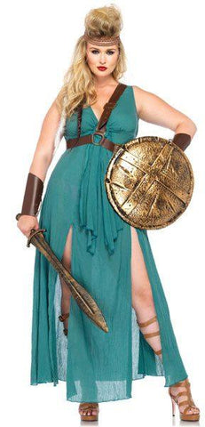 Costumes Women - Warrior Maiden Plus Size Womens Costume