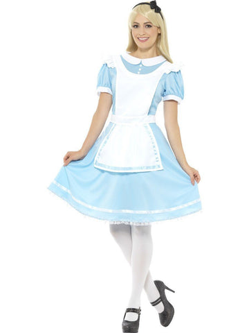 Wonderland Princess Womens Costume Alice Book Week Fancy Dress