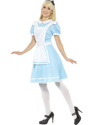 Wonderland Princess Womens Costume Alice Book Week Disney Fancy Dress