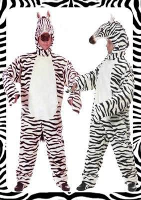 Zebra Hire Costume
