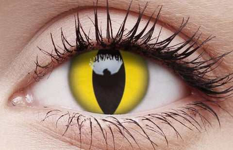 Cat Eye Halloween Contact Lenses