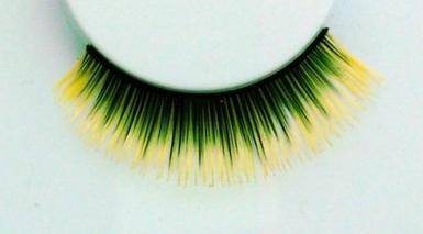 False Eyelashes - Eyelashes Yellow Tips