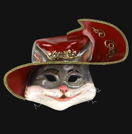 General - Mask Venetian Puss In Boots