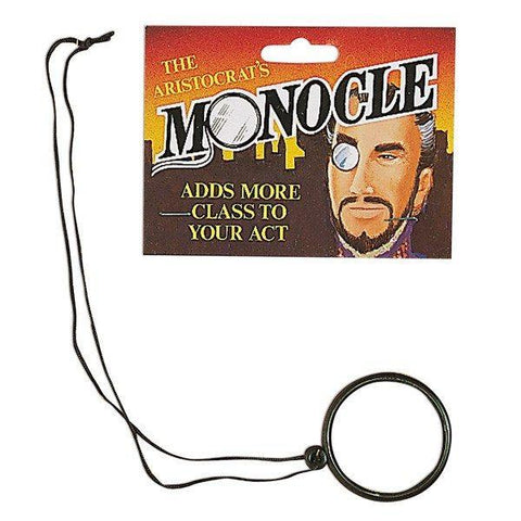 Glasses / Sunglasses - Monocle For Fancy Dress